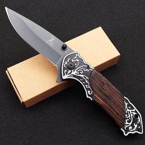 Elk Ridge SY19 pliant portable couteaux camping en plein air Couteau de chasse haute dureté couteau suisse autodéfense outil de survie sauvage engrenage