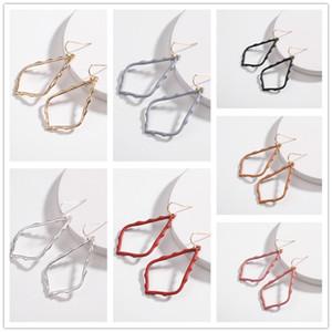 Kendra Style Sophee Legierung Rahmen Oval Scott Ohrringe Mode Baumeln Ohrringe für Frauen