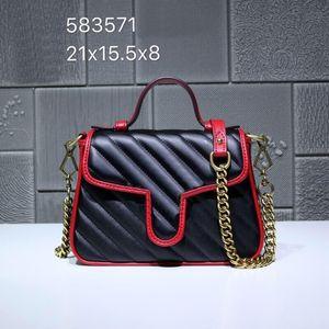 Europa klassischen Vintage-Damen Handtasche, Designer Umhängetasche perfekter Design-Stil direkt ab Werk 583.571 globales freies Verschiffen