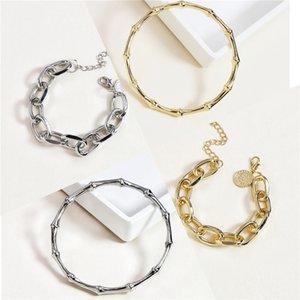 Hot Black White Ceramic Bracelet Men Woman 316L Stainless Steel Crystal Rhinestone Gold Bracelet Hand Chain Jewelry Watch Clasp J190721#630