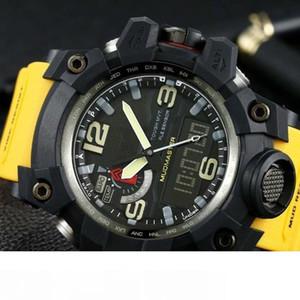 homens de luxo ver GWG1000 Relógio 60mm Movimento Digital original yg fábrica Relógios De Pulso À Prova de água com caixa de aço