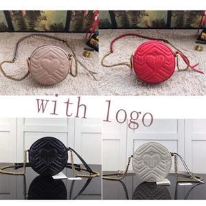4 couleurs meilleur sac pochette femmes concepteur de qualité g g MARMONT diagonale ophidiens en cuir de luxe aiment rond sac à main mini-chaîne épaule bagsd411 #