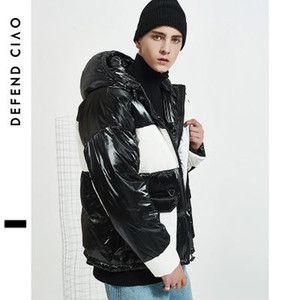 2019 New Mens Designer Down Coat Luxury Color Mix Thick Jacket Active Winter Windproof Jackets for Outdoor Womens Hooded Coat for Student
