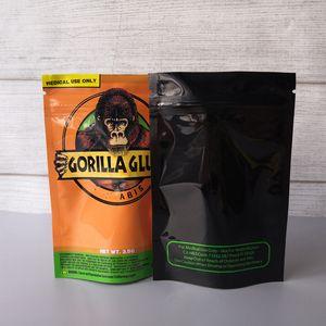 3.5G 고릴라 GLUE BAG은 Vape 드라이 허브 고릴라 글루 마일 라 지퍼 가방 DHL 무료 포장 증거 가방 냄새