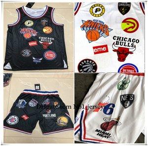 New Hot Men's Jersey All-Star 94 Extreme Commemorative Edition 2020nba Black Basketball Jerseys Hot Pressing Jersey Shorts