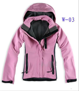 hot selling High Quality The Womens North Denali Fleece Hoodies Jackets Fashion Casual Warm Windproof Ski Face Coats Jackets Suits S-XXL