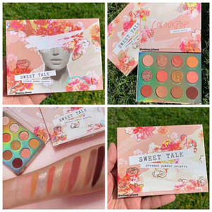 Dropshipping en stock !!! 2019 Nouveau colourpop maquillage 12 palette Sweet Talk fard à paupières de couleur