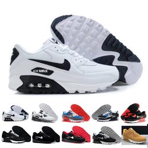 nike air max 90 90s airmax 2017 di alta qualità dei pattini correnti dell'ammortizzatore 90 Kpu delle donne degli uomini Classic 90 Scarpe casuali formatori Sneakers uomo ch
