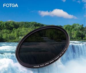FOTGA 46 49 52 55 58 62 67 72 77 82mm Adjustable Slim Fader ND2-400 Filter Lens Protector Variable Neutral Density ND2 to ND400