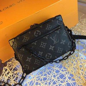 Louis Vuitton Louis Vuitton Consegna veloce Classic Trend donne borse in pelle di alta qualità a tracolla dal design di lusso Tronco Borse a tracolla Messenger Bag Borsa bandolera