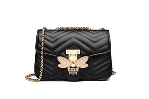 purse hook Chain Shoulder bags for women 2019 Handbags Women Bags Designer Famous Brands Messenger Ladies Leather Handbag Sac A Main