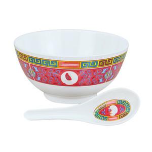 Großhandels-Bowl Löffel Set Keramik Moderate In Größe Jubilation Geschirr Eco Friendly wiederverwendbare Artifact Anti Scald Essgeschirr 35frD1