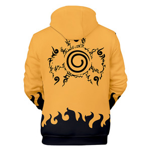 3D Anime Naruto hoodie men women sweat long sleeve cosplay harajuku sweatshirts tracksuit pullovers Jacket hoodies clothes