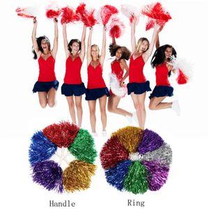 Handheld Poms pom-pom girl Cheerleading Cheer Waver Costume de déguisement Pompons Dance Party Football Club Décor