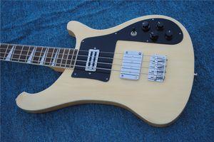 2020 Новое прибытие Custom Shop 4003 верхнего качества 4 струны электрическая бас гитары Ric естественный цвет, свободная перевозка груза