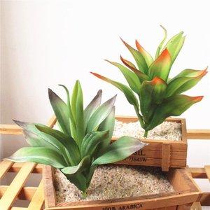 1PCS PVC Artificial Fleischigkeit Aloe Sukkulenten Gras Plant Artificielle Gefälschte Kaktus für Haus-Garten-Dekoration Blumen