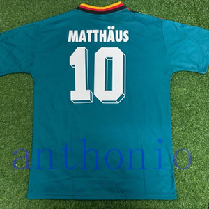 TOP 1994 ALEMANIA calcio maglia retrò vintage classico MATTHAUS Voller KLINGSMANN camisetas futbol futebol camisa maillot de foot FORMATO S-XXL