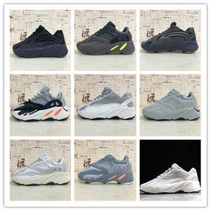 ssYEzZYYEzZYs v2 350boost Top Quality 700 Wave Runner Mauve Inertia Running Shoes Kanye West Designer Shoes Static Geode