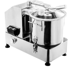 HR6 / HR9 / HR12 électrique alimentaire Machine de découpe 6L / 9L / 12L Cutter en acier inoxydable alimentaire réglable Coupe-légumes Processeur alimentaire