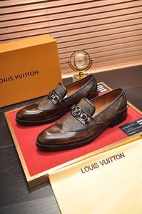 2019 Masorini Out Oxfords Chaussures formelles Hommes Chaussures de mariage en cuir Heren Schoenen Oxford pour hommes Robe Mocassins