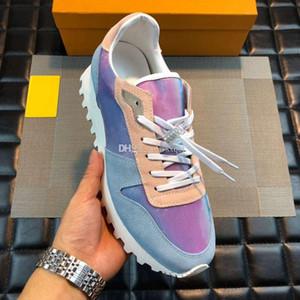 F1021 motif vintage d'impression de la série Big Yards Chaussures Hommes Chaussures Casual Bas de jogging Amant 2019 Luxury Designer Chaussures Hommes