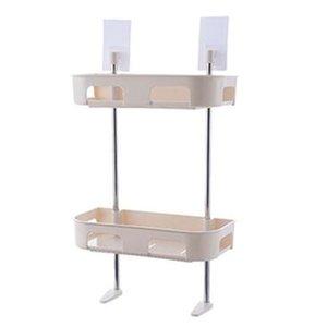 Многофункциональный Туалет Полка Многослойной Галантерея Полка ванная Подвесная Пасты для хранения Стеллаж Beige