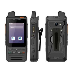 Uniwa F60 IP68 Walkie impermeável Talkie 2.8 polegadas 4G GSM Zello Radio Poc Radio com NFC e SOS Botão