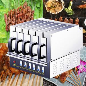 2019 Dernier modèle agneau brochettes four électrique four de cuisson machine électrique grill machine barbecue grill barbecue machine 3900W