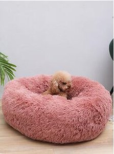 100cm Best Cat Bed Soft Long Plush Pet Dog Bed For Dogs Basket Pet Products House Cushion Cat Pet Bed Mat Cat House Animals Sofa