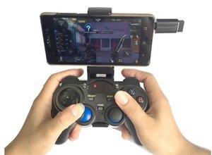 1 قطع 2.4 جرام اللاسلكية لعبة تحكم غمبد المقود مصغرة لوحة المفاتيح النائية للهواتف الذكية ، ث / داعم الهاتف ، pk ps4 تحكم
