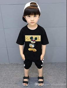 2020 Children's cotton short-sleeved T-shirt fashion letter shirt T-shirt quality casual short-sleeved shirt T-shirt children's cl