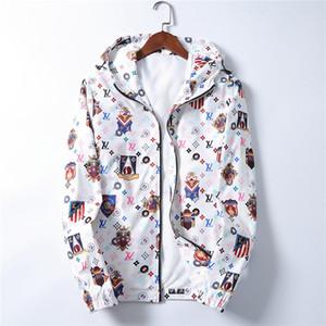 20ss Hooded Jacket Autumn&Winter new luxury design long sleeve Medusa men's windbreaker jacket men's casual jacket