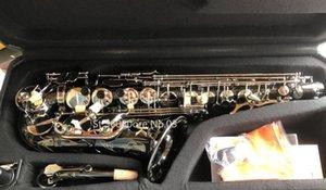 Germania JK SX90R Keilwerth Saxophone Alto Black Nickel lega d'argento Alto Sax strumento musicale in ottone con il caso Bocchino Copia
