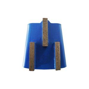 EZ Change Diamond Grinding Block Quick Lock Stone Grinding Pads Calibrating Wheel Grinding Disc for Granite 12PCS