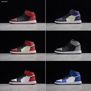 1 2019 1s bambini scarpe da basket in età prescolare Firmato Infant alta Gioventù Chicago appena nato del bambino del bambino formatori Piccole ragazze dei ragazzi