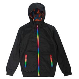Giacca Woodvoice nuovo Mens giacca a vento 2020 molla di modo di autunno Outwear il rivestimento degli uomini con cappuccio giacche casual maschile Jaqueta Masculina