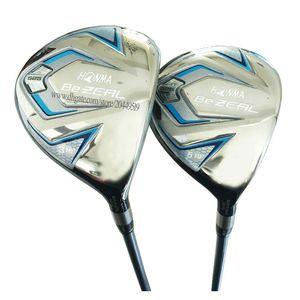 Новые женские гольф-клубы HONMA BEZEAL 525 Golf Fairway Wood 3/5wood Loft Golf wood графитовый Вал и клубы крышка головки Бесплатная доставка