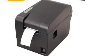 Código de barras Impresora Etiqueta Código QR Etiqueta Ropa Leche Té Etiqueta Térmica