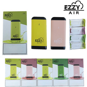 Disposable Pod Vape Pen EZZY AIR Starter Kit 2.7ml Oil Carts Cartridges 450mah Battery Empty E Cigarettes Device Pods With Security Code