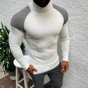 Adisputent Maglione Pullover Casual Male abiti maglia Plus Size autunno Wineter dolcevita Slim Fit maglione caldo Top 2019