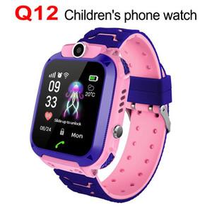 Q12 montre intelligente Téléphone 1,44 pouces étanche montre intelligente appelez Smart Voice Chat sports pour enfants étudiant.
