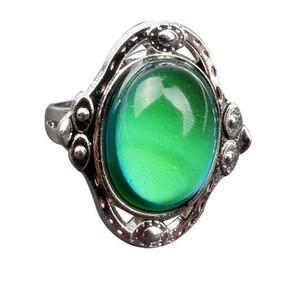 Ruby Colour Restoring Ancient Ways L'apertura dell'anello può essere regolata Heat Mood Female Ring popolari Jewelry Wholesale and Sale