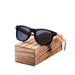 BARCUR Natürliche Zebra Holz Sonnenbrille Polarisierte Handgemachte Herren Sonnenbrille Holz Männer Gafas Oculos De Sol Madera
