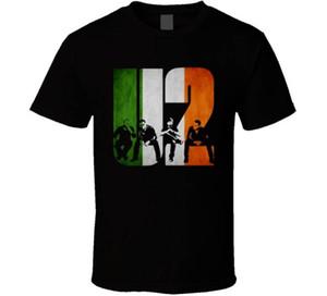 Online-T-Shirts für Männer Großhandel Rabatt The Joshua Tree Iris Flagge Rundhals Baumwolle Kurzarm-Shirts