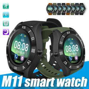 M11 Sports relógio inteligente Bluetooth relógio inteligente TFT Motor Smartwatch Com pedômetro Camera For Man Mulheres Outdoor usar na caixa