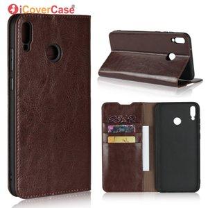 Custodia Luxury per Huawei Honor 8X Custodia Flip Portafoglio in vera pelle Accessorio Phone Phone per Honor 8X Max Bag Etui Coque Funda
