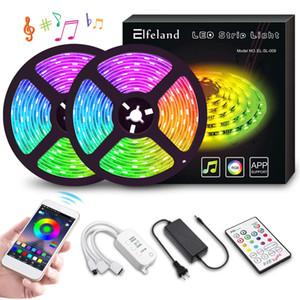LED-Lichtstreifen 10M 300 LEDs Farbwechsel Lichtschlauch 5050 RGB-Lichtstreifen mit APP Wasserdichte Lichtbänder Mit Musik synchronisieren Übernehmen
