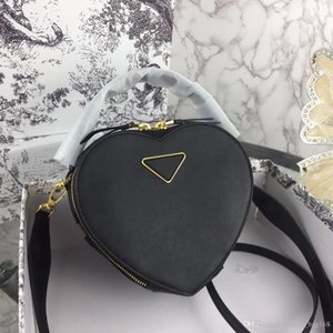 New Fashion Luxury Designer Woman Handbag Cross body Bags Shoulder Genuine Leather High Quality Tote bags superior leather Heart shaped bag
