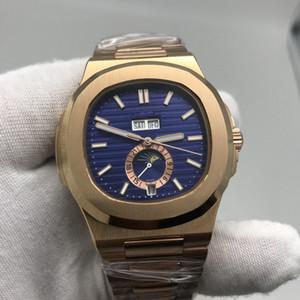 P-p-mechanische Uhr für Männer Top-Qualität 5726 Sport Stahlarmbanduhr Mens Fashion Nautilus Uhren