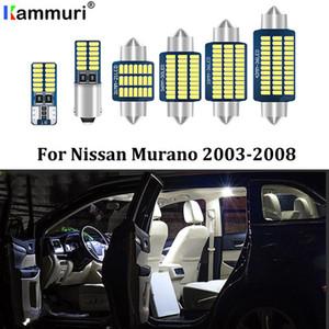 Kammuri 15pcs Free Error Blanc LED Light Kit voiture Intérieur paquet pour 2003-2005 2006 2007 2008 LED Murano Eclairage intérieur